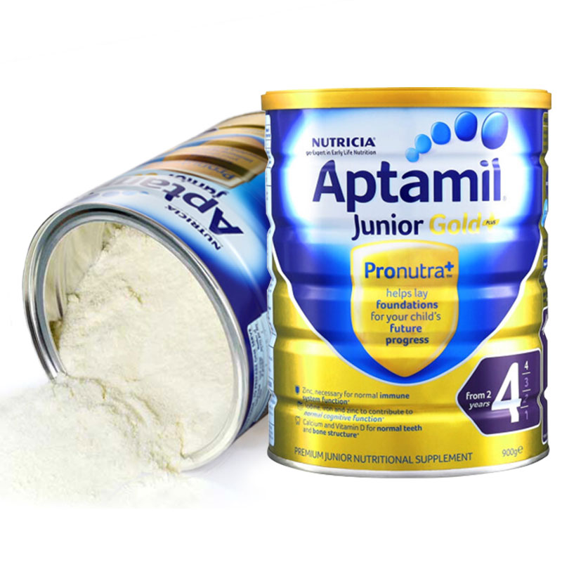 Aptamil loves his 4 pack 900g/ cans of infant formula milk powder.