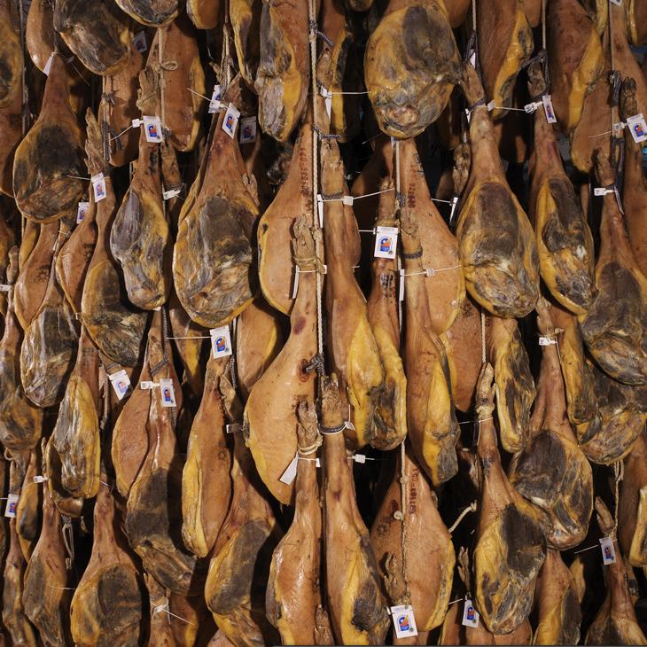 西班牙批發原產地火腿切片的保護命名(Jamon de Teruel SoCiar)
