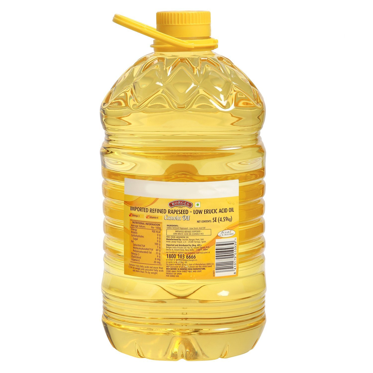 100% Refined Rapeseed Oil