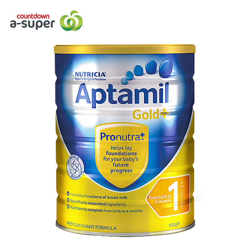 Aptamil loves his 1 pack 900g/ cans of infant formula milk powder.