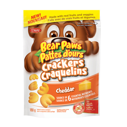 Brave bear cheese cookies