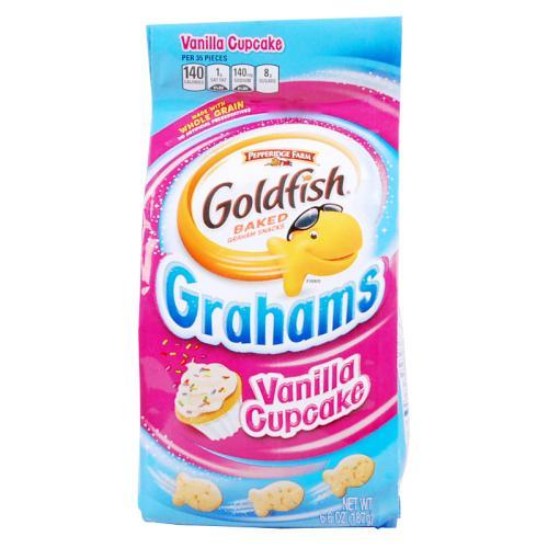 Source fish vanilla biscuit