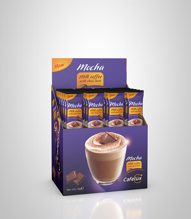 Cafelux Mocha 18gr x 24