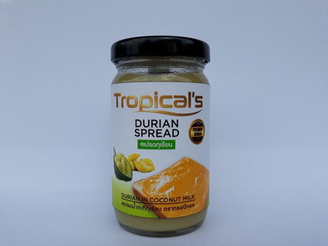 Wholesales Price Sweet with Coconut Milk Paste Jam Durian
