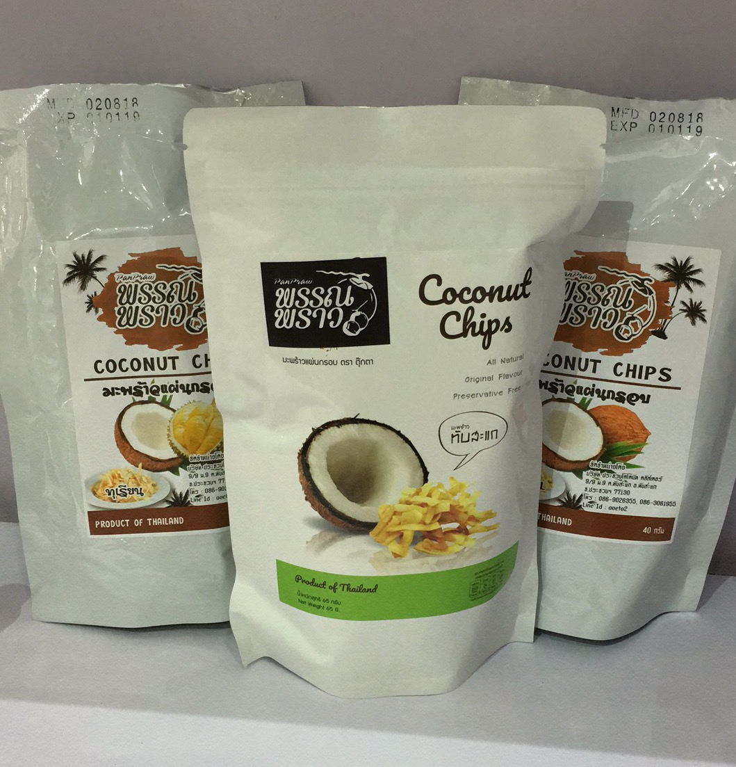 COCONUT / DURIAN CHIPS