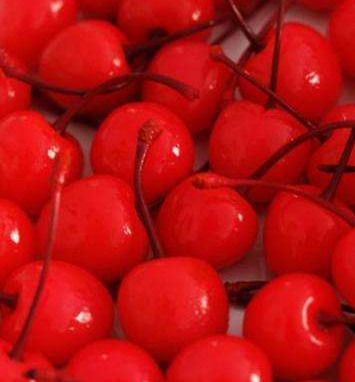 CANNED red cherry