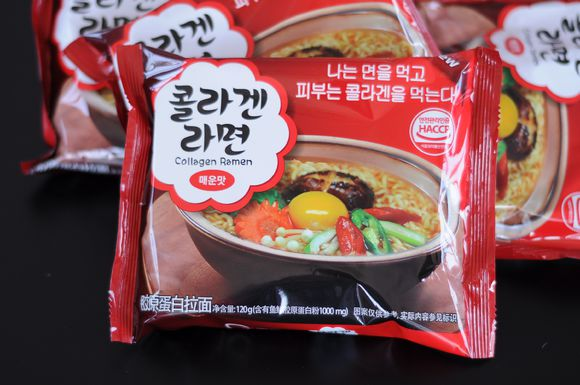 Korea scale collagen noodles