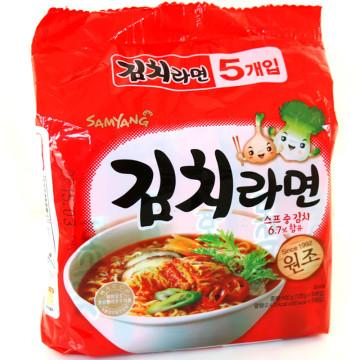 Looking up instant noodles from Korea